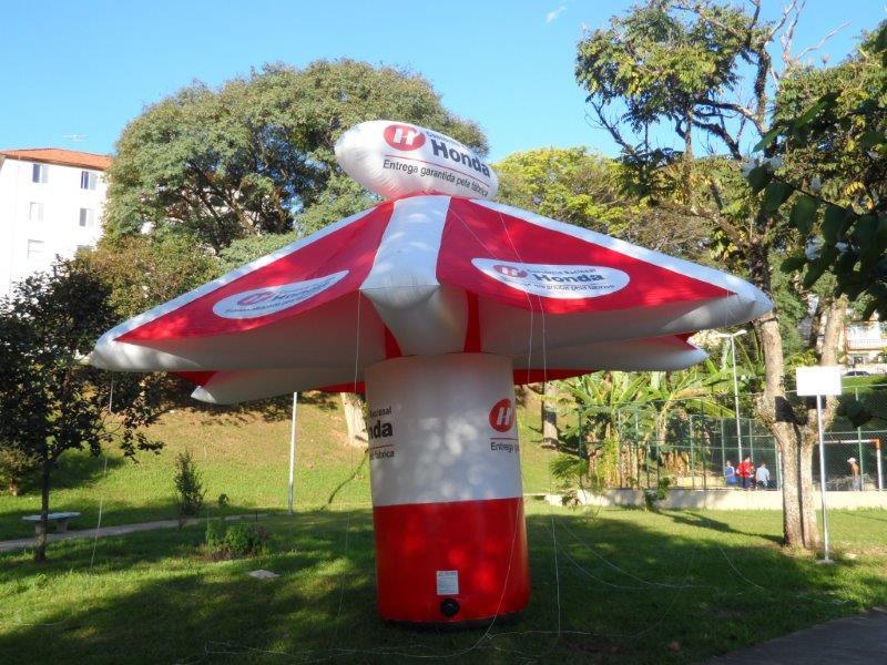Tenda inflável personalizada preço