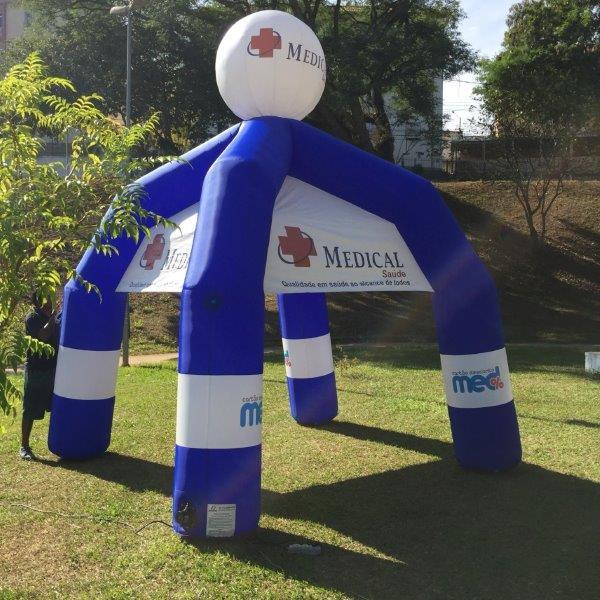 Tenda inflável sp