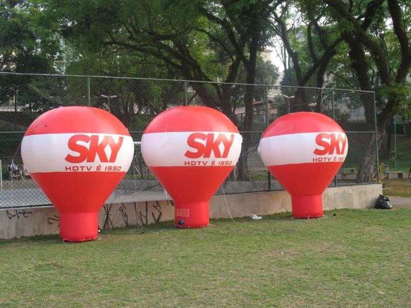 Venda de balão inflável