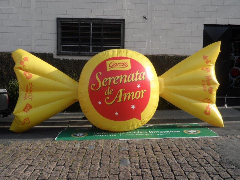 Balão inflável
