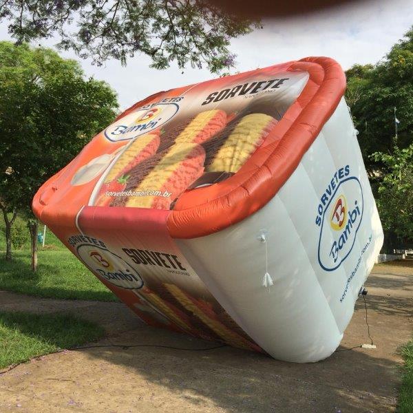 Balão inflável personalizado