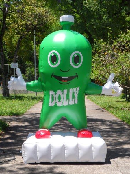 Fábrica de boneco inflável