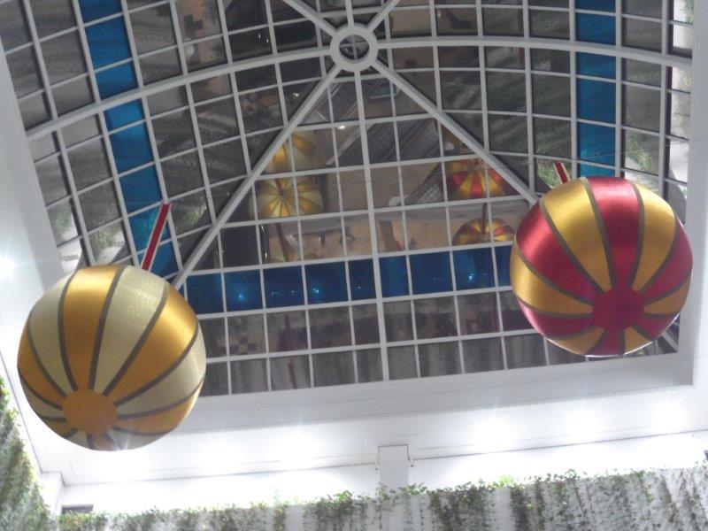 Fábrica de papai noel inflável