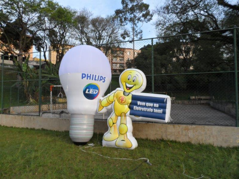 Mascote inflável preço