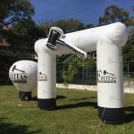 Pórtico inflável personalizado