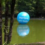 Bola inflável gigante personalizada
