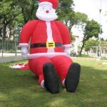Papai noel inflável gigante preço