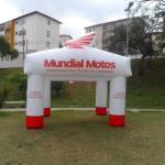 Tendas infláveis promocionais