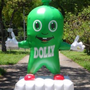 Boneco inflável personalizado