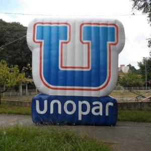Logomarca inflável