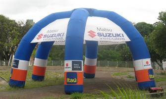 Barraca inflável